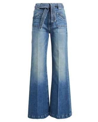 The Tie Patch Roller Jeans, DENIM-DRK, hi-res