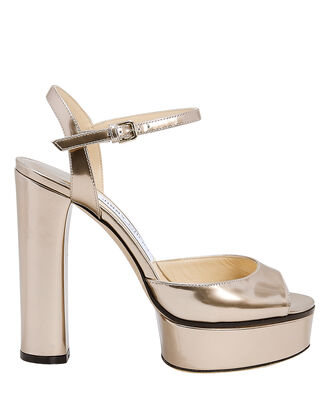 Peachy Platform Sandals, GOLD, hi-res