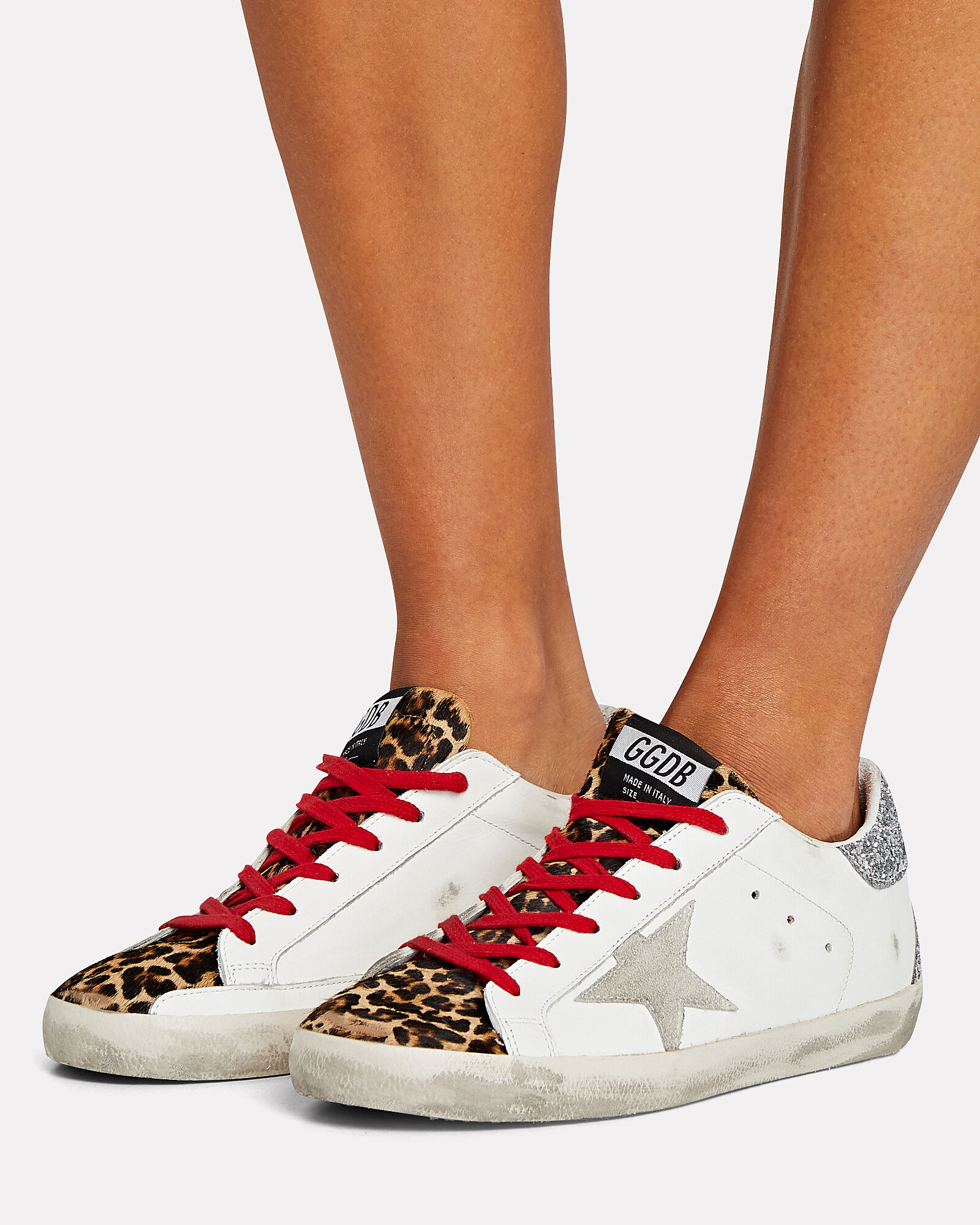 Superstar Low-Top Leather Sneakers, , hi-res