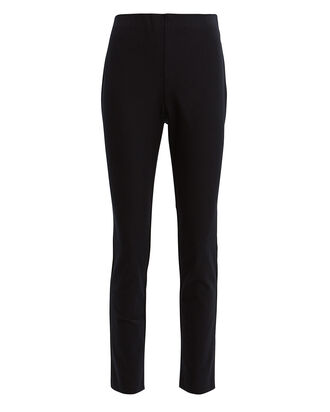 Nina Ankle Cropped Pants, BLACK, hi-res