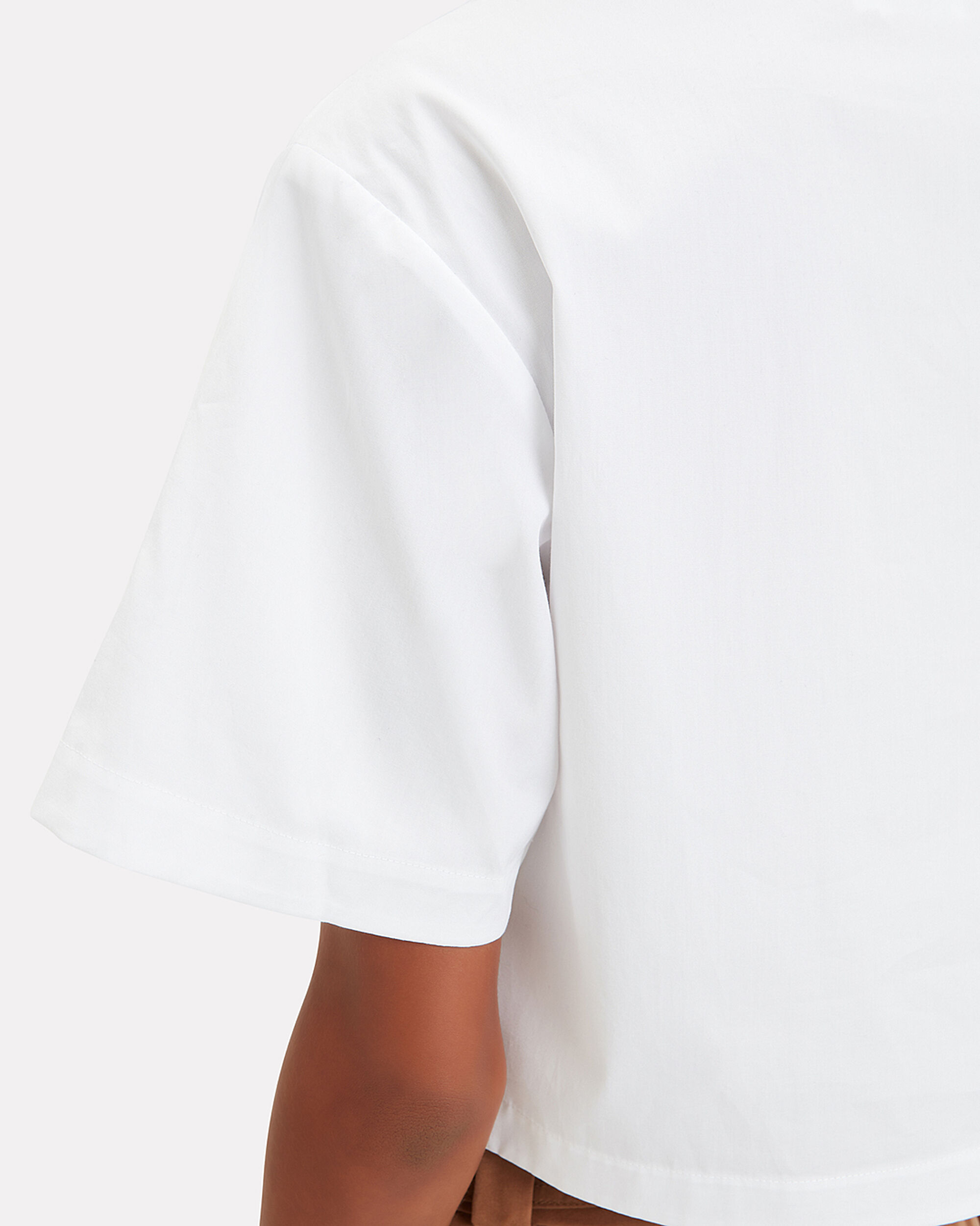 Woodson Crop Top, WHITE, hi-res
