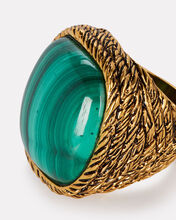 Miki Malachite Ring, EMERALD, hi-res