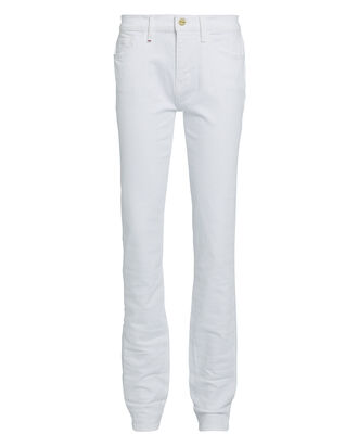 Le Nik Straight-Leg Jeans, WHITE DENIM, hi-res