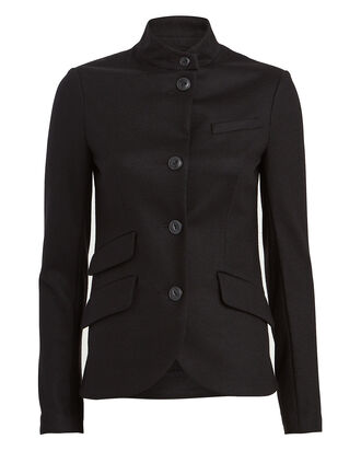 Slade Slim Wool Blazer, BLACK, hi-res