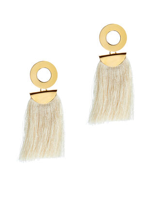 Go Go Crater Earrings, GOLD, hi-res