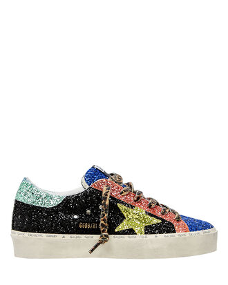Hi Star Colorblocked Glitter Sneakers, BLACK/PINK/BLUE/GREEN, hi-res