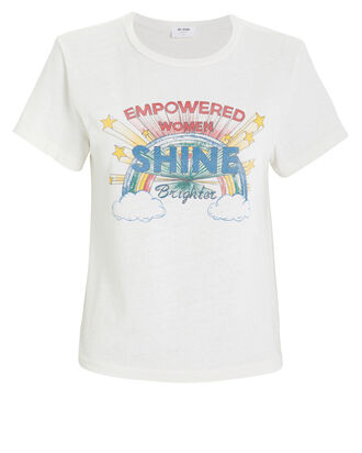 Classic Shine Graphic T-Shirt, IVORY, hi-res