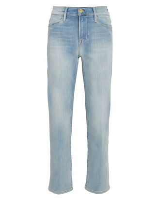 Le High Straight Jeans, , hi-res