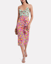 Ani Floral Silk Camisole, IVORY/RED/GREEN, hi-res