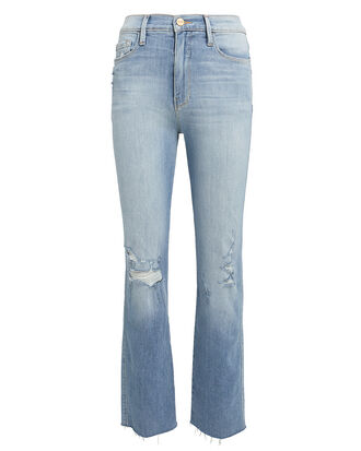 Le Sylvie Raw Edge Jeans, LIGHT BLUE DENIM, hi-res