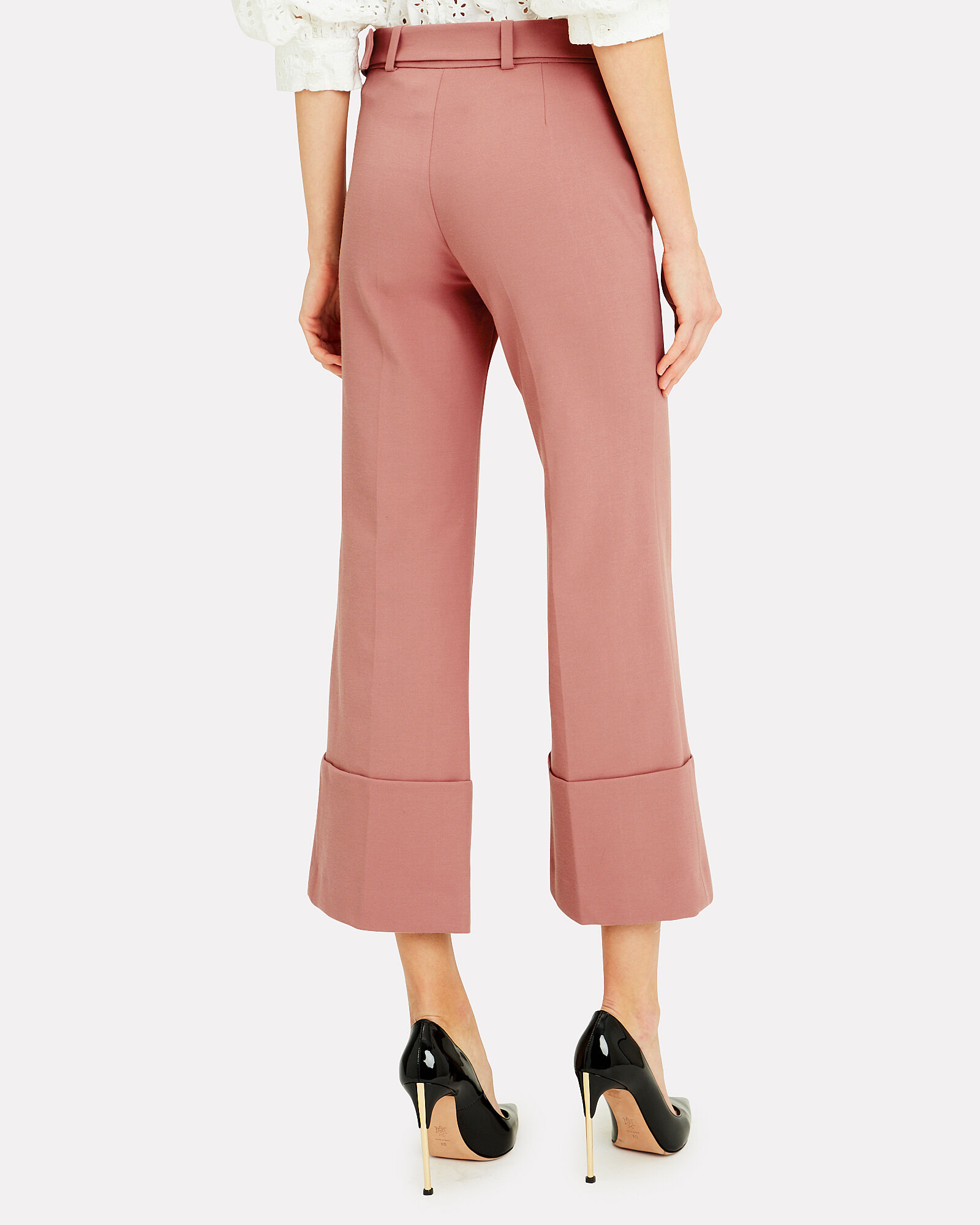 Cropped Rose Pants, BLUSH, hi-res
