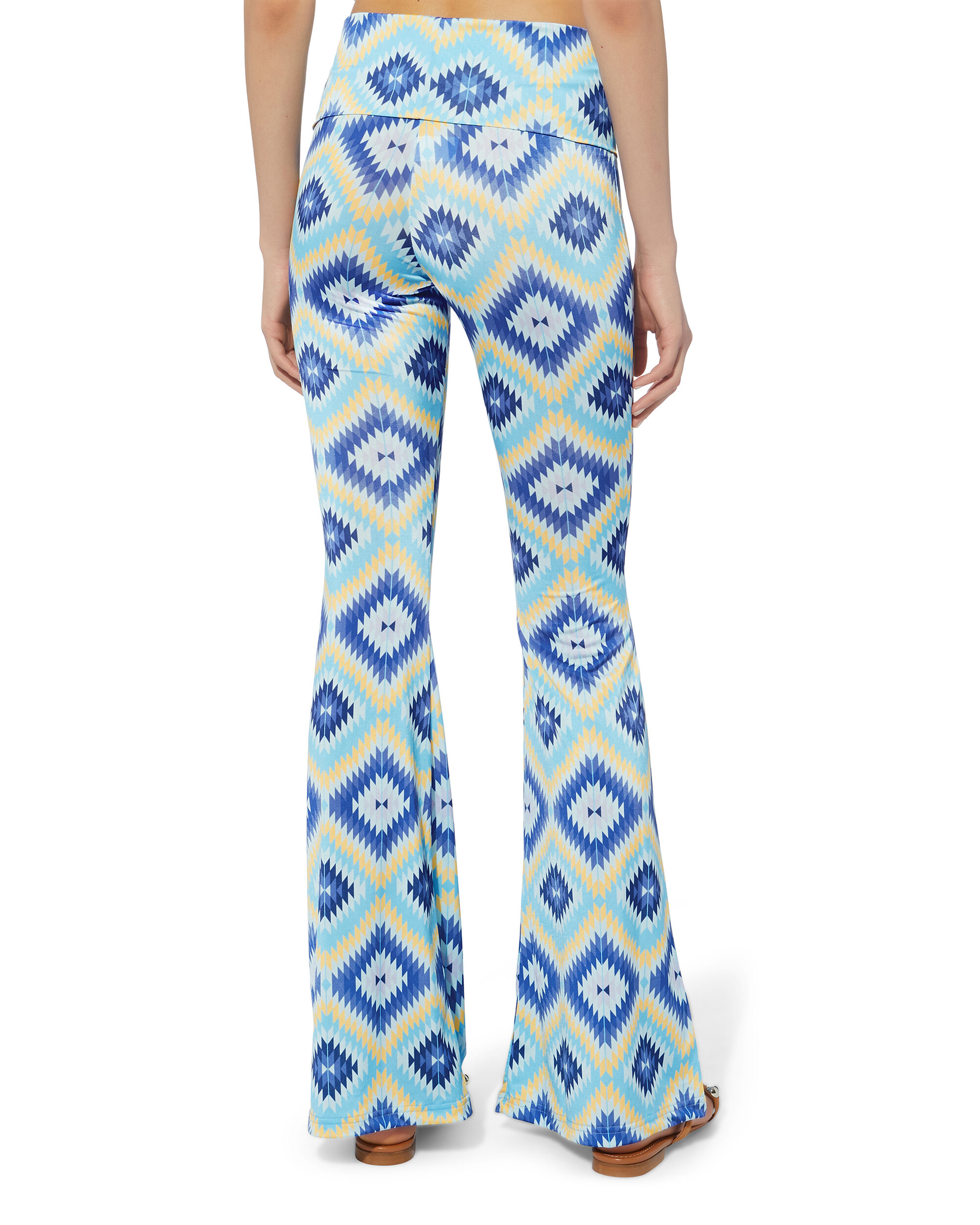 Pitu Flare Pants, MULTI, hi-res