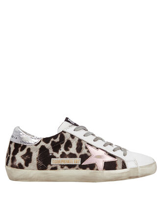 Superstar Leopard Low-Top Sneakers, GREY, hi-res