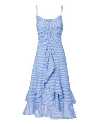 Eberta Midi Dress, BLUE-LT, hi-res