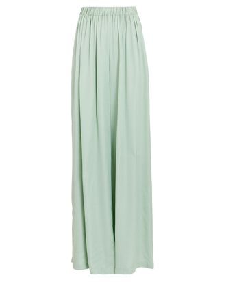 Astor Wide-Leg Pants, LIGHT GREEN, hi-res