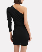 Loving One Shoulder Dress, BLACK, hi-res
