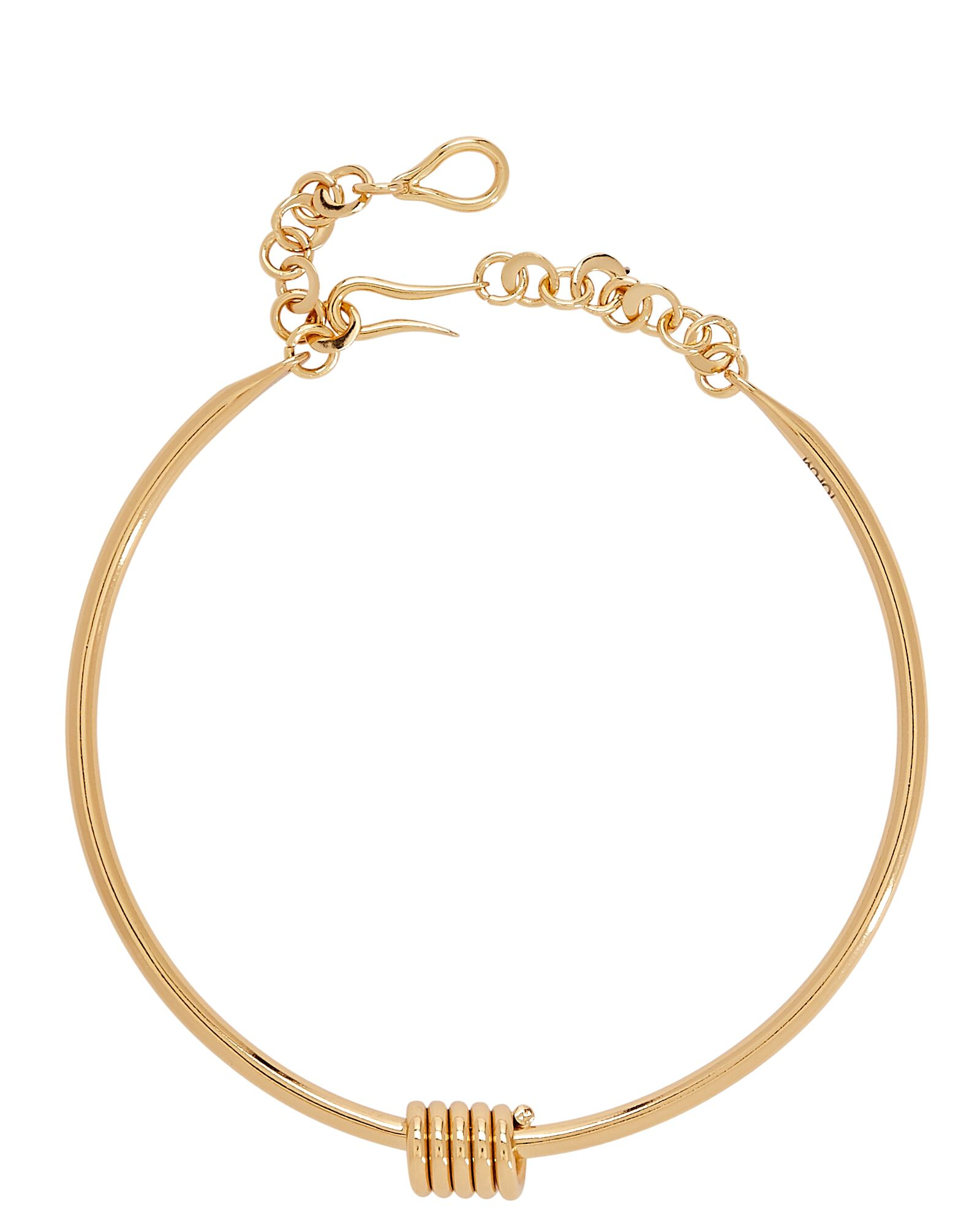 Apia Twisted Choker Necklace, GOLD, hi-res