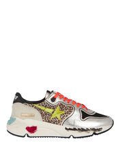 Running Sole Leopard Sneakers, MULTI, hi-res