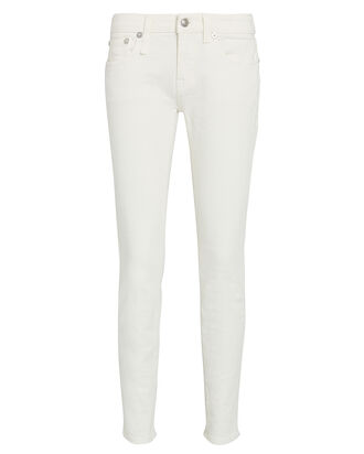 Kate Mid-Rise Skinny Jeans, RINSED WHITE, hi-res