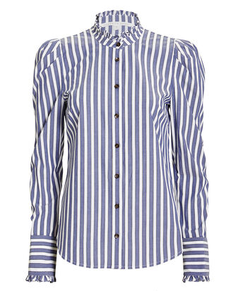 Holli Shirt, STRIPE, hi-res