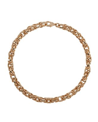 Vinci Vintage Chain-Link Necklace, GOLD, hi-res