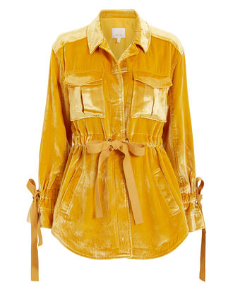 Mathieu Cargo Jacket, YELLOW, hi-res