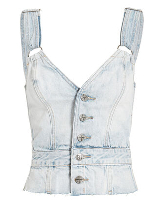 Chillz Limits Top, DENIM-LT, hi-res