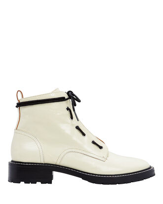 Cannon White Boots, WHITE, hi-res