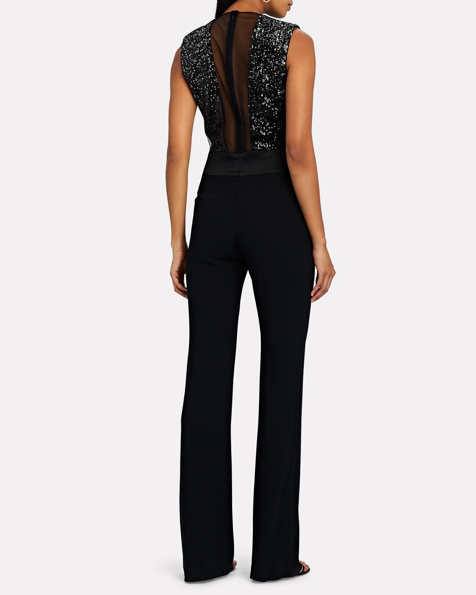 Mercury Sequined Jumpsuit, BLACK, hi-res
