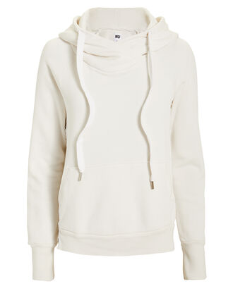 Mildred Pullover Hoodie, WHITE, hi-res