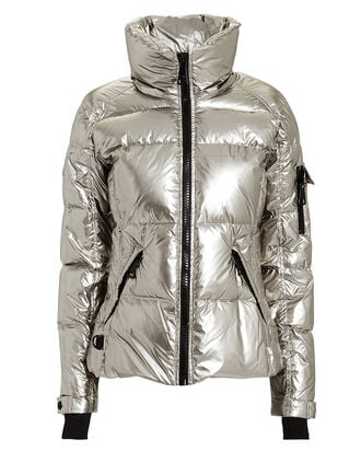 Freestyle Pyrite Puffer Jacket, DARK SILVER, hi-res