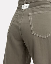 Shiloh Wide Leg Jeans, OLIVE/ARMY, hi-res