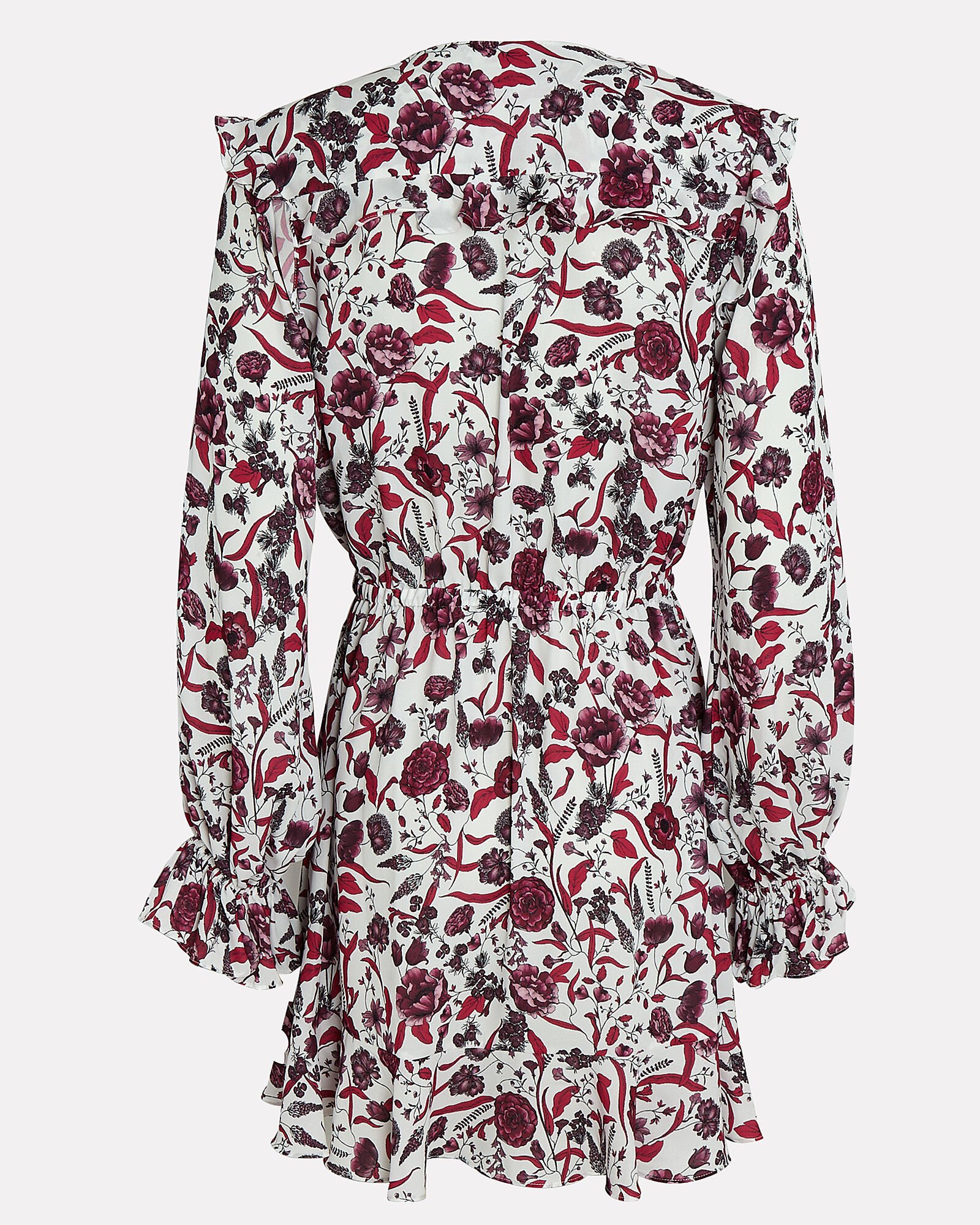 Kosma Floral Mini Dress, WHITE/RED FLORAL, hi-res