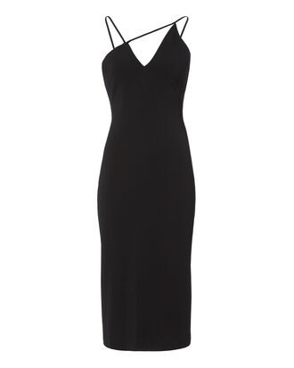Karina Black Pencil Dress, BLACK, hi-res