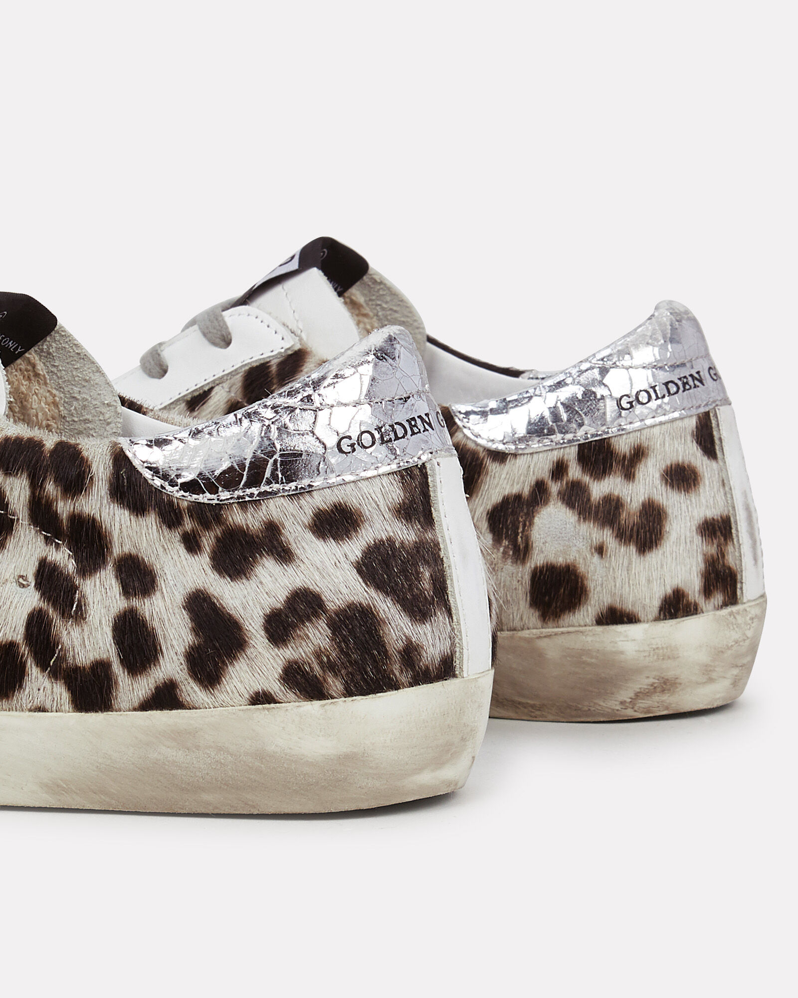 Superstar Leopard Low-Top Sneakers, WHITE/PINK, hi-res