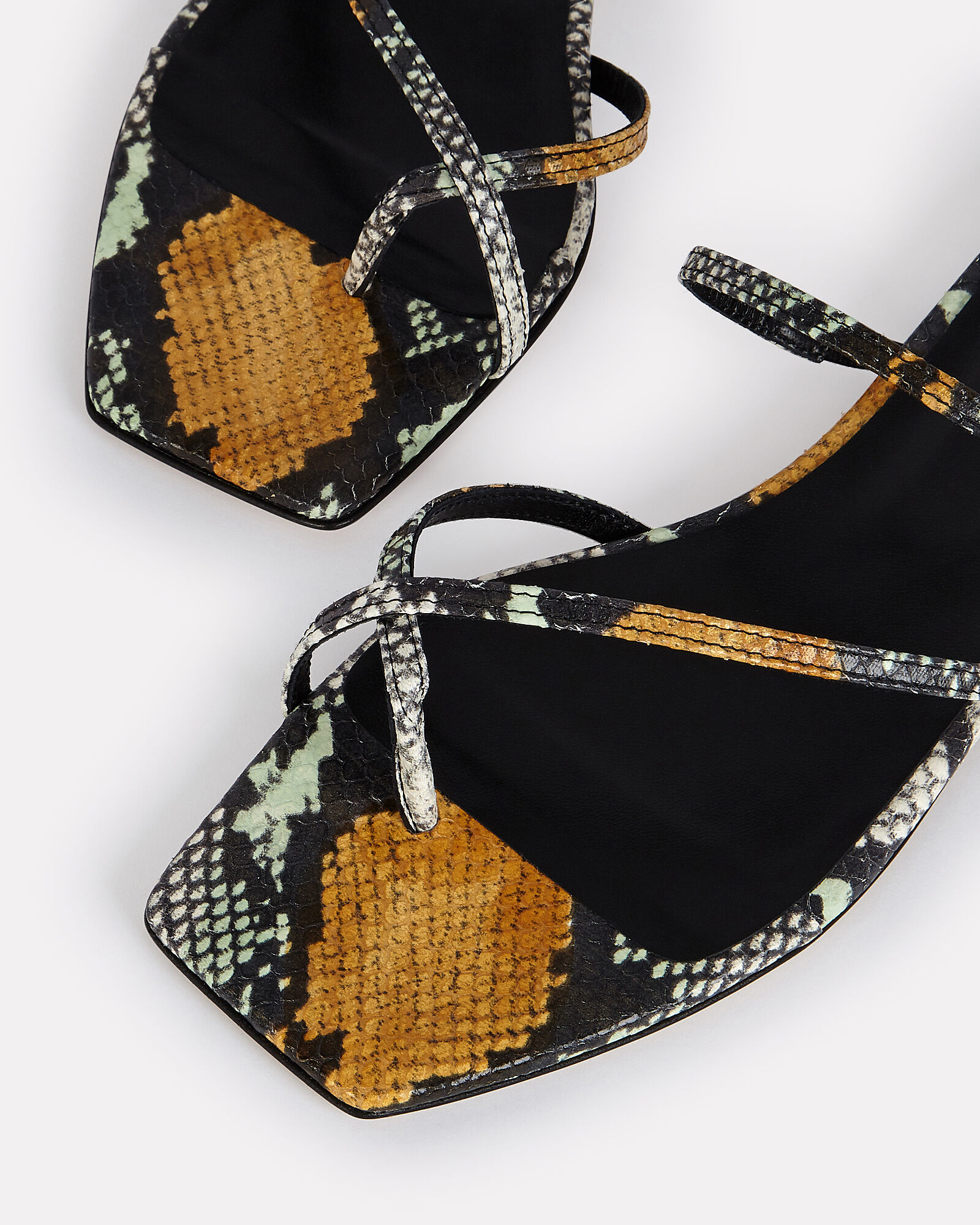 Marina Strappy Slide Sandals, MULTI, hi-res