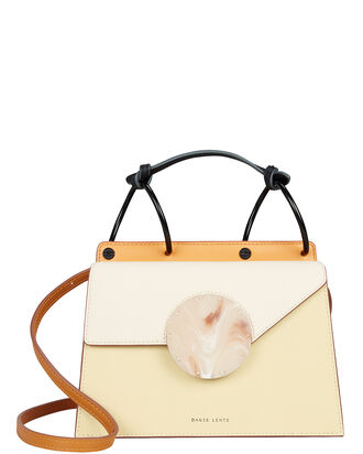 Mini Phoebe Ivory Crossbody Bag, IVORY/MARIGOLD, hi-res