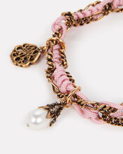 Friendship Charm Bracelet, PINK, hi-res
