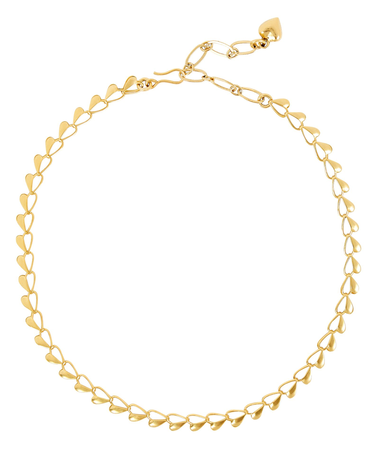 Eros Open Heart Chain Necklace, GOLD, hi-res