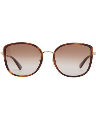 Havana Rounded Cat Eye Sunglasses, TORTOISESHELL, hi-res