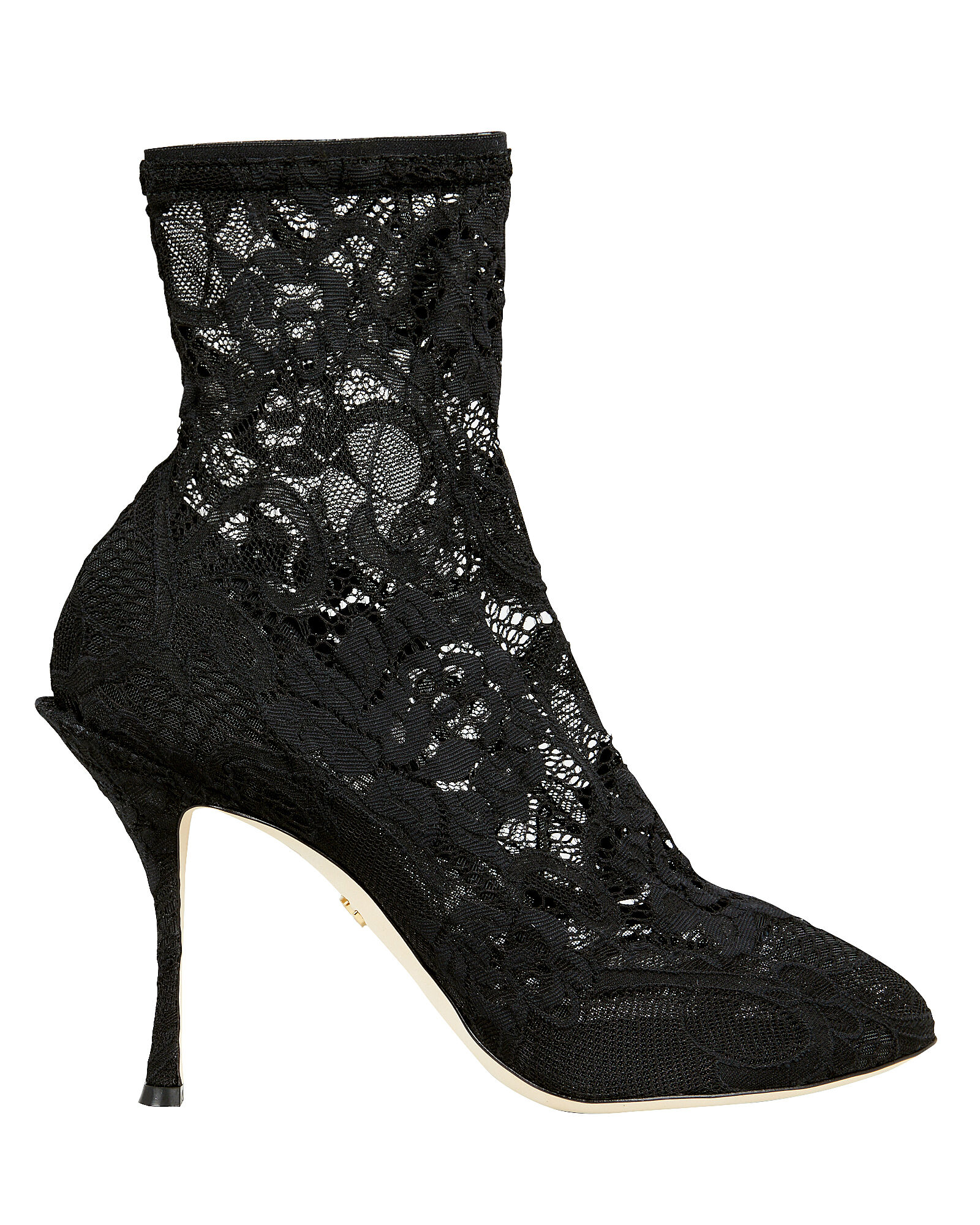 50469dd1f6 Lace Stretch Booties