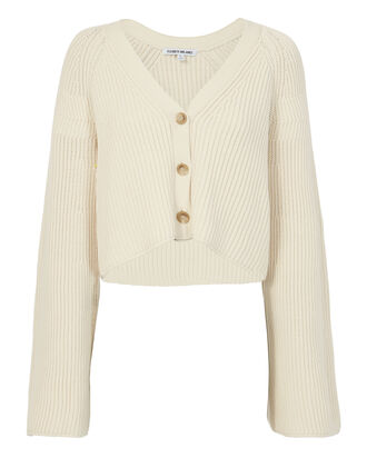 Cabot Cardigan Sweater, IVORY, hi-res