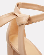 Clarita 90 Block Sandals, BEIGE, hi-res