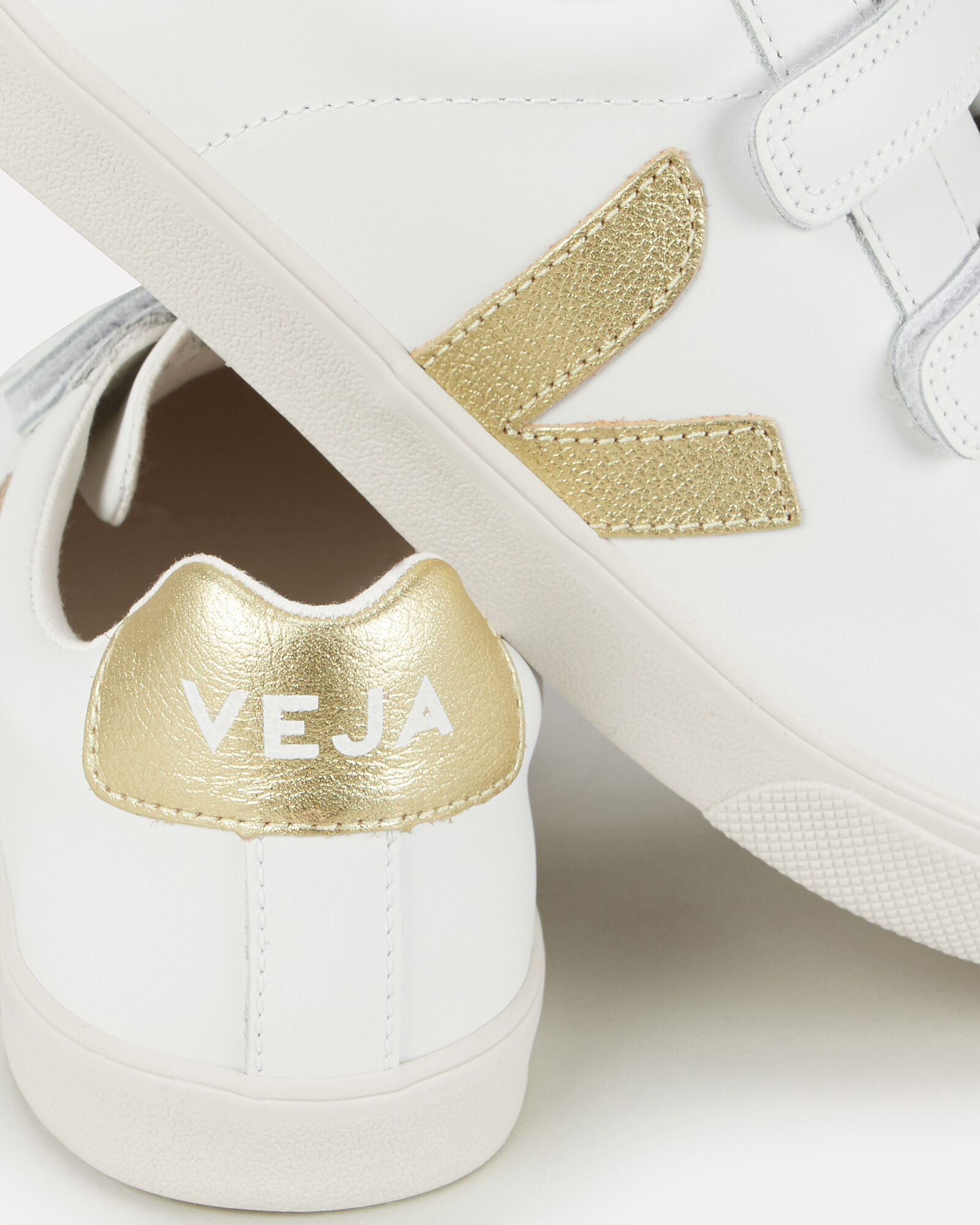 V-Lock Gold Low-Top Sneakers   INTERMIX®