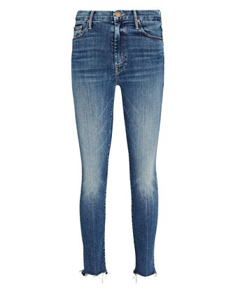 The Looker Ankle Fray Skinny Jeans, DENIM, hi-res