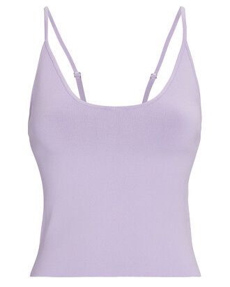 Ava Knit Tank Top, PURPLE-LT, hi-res