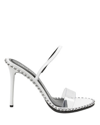 Nova Slingback Sandals, WHITE, hi-res