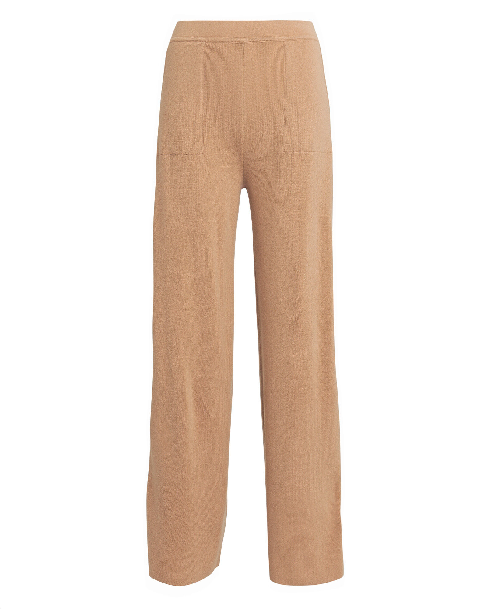 Willow Wool-Cashmere Knit Pants, BEIGE, hi-res