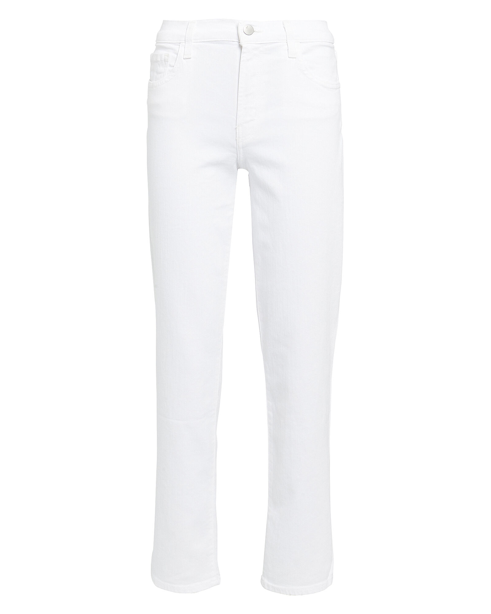 Adele High-Rise Jeans, WHITE, hi-res