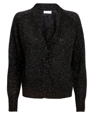 Mason Lurex Cardigan, BLACK, hi-res